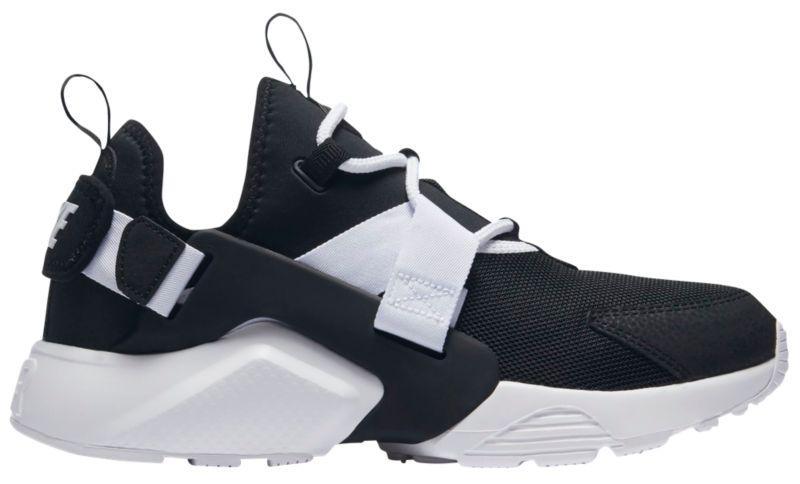 Кроссовки Кеды (Оригинал) Nike Air Huarache City Low Black Black White 37630a42e84