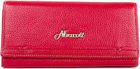 Кошелек красный женский из натуральной кожи NIVACOTT (НИВАКОТТ) MISS17492-red красный