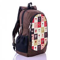 Молодежный рюкзак коричневого цвета для девушки XYZ арт. RG18605-1