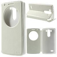 Чехол книжка Roar Korea Noble Window для LG G3s Dual D722 D724 белый