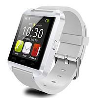 Наручные умные часы (смарт) Smart U8 White