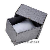 Картонная коробка для часов серая