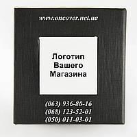 Коробка с белым квадратом с логотипом  Вашего интернет магазина