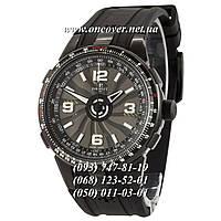 Механические наручные часы Perrelet Double Rotor Turbine Pilot A1086/A All Black