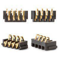 Коннектор батареи для мобильных телефонов Blackberry 8100, 8220, 8300, 8310, 8320, 8520, 9000, 9630, 9700, 9780