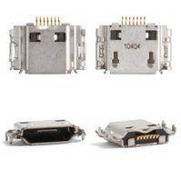 Коннектор зарядки для мобильных телефонов Samsung B7722, B7722i, C3530, I5700 Galaxy Spica, I5800 Galaxy 580, I717, I7500, I8000 Omnia II, I8510,