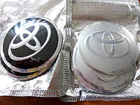 3D наклейки на диски и колпаки TOYOTA металл