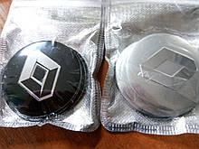 3D наклейки на колпаки и диски RENAULT металл  56 мм  и  65 мм