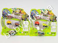 Машинка Trash Pack, 2 вида, 2 шт, на листе