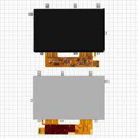 "Дисплей для планшетов China-Tablet PC 7""; Ainol Novo 7 Aurora, 7"", (1024*600), (165*103 мм), 34 pin, #LD070WS2-SL02"