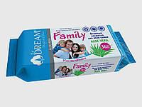 Влажные салфетки для всей семьи  АLOE VERA  Air Dream 36шт.