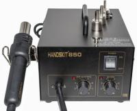 Паяльная станция HandsKit 850 с термофеном (компрессорная)