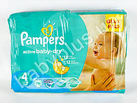 "Подгузники Pampers ""Active Baby-Dry Maxi"" (7-14 кг) 76шт"