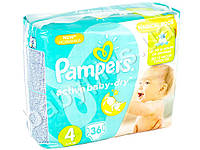 "Подгузники Pampers ""Active Baby-Dry Maxi"" (8-14 кг) 36шт"