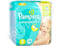 "Подгузники Pampers ""Active Baby-Dry Junior"" (11-18 кг) 28шт"