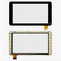 """Сенсорный экран для планшета China-Tablet PC 7"""", 7"""", 186 мм, 106 мм, 30 pin, емкостный, черный, #GF7033A2-PG/GT70PFD8880"""