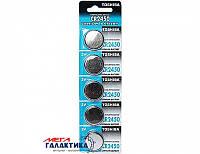 Батарейка Toshiba CR2450 610 mAh 3V Lithium (5903240991310)