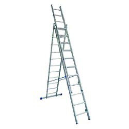 Лестница алюминиевая 3-х секционная Elkop VHR H3х10 (38184)