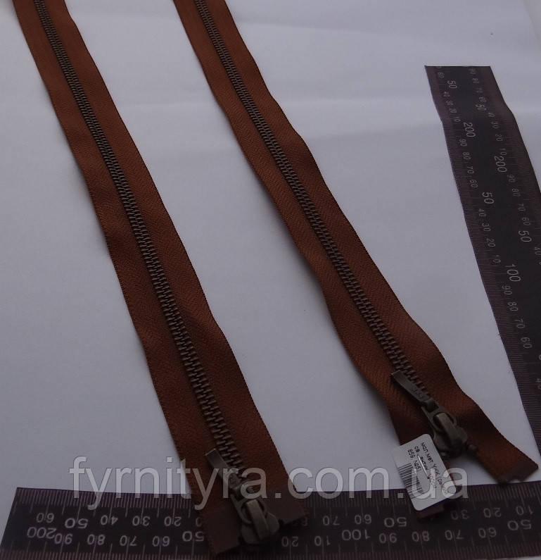 Металл YKK 100cm 859 св.рыжий 2 бег №5 антик