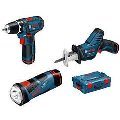 Набор инструментов 3 в 1 10.8 V-Li L-Boxx