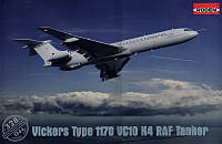 1:144 Сборная модель самолета Vickers VC10 K4, Roden 328