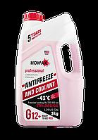 Антифриз NOWAX G12, цвет: красный, 5 кг., NX05001