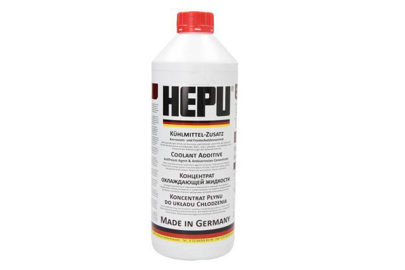 Антифриз (красний) 1.5L G12 (1:1= -38°C) Hepu