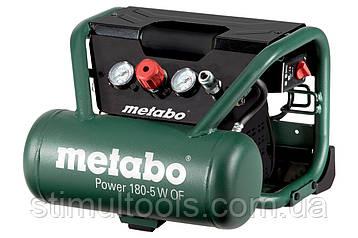Безмасляний компресор Metabo Power 180-5 W OF