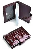 Кожаная визитница D01-1034-12 Визитницы кожаные. Низкие цены визитница