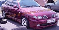 Накладка на передний бампер для Daewoo Lanos 1997 седан