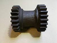 Блок шестерен заднего хода 24*25 зуб. КПП 236-1701082