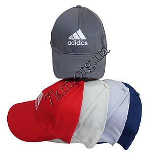 "Кепка взрослая мужская коттон ""Adidas"" 58 р. Оптом 5287"