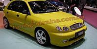 Накладка на передний бампер для Daewoo Lanos 1997 хэтчбек