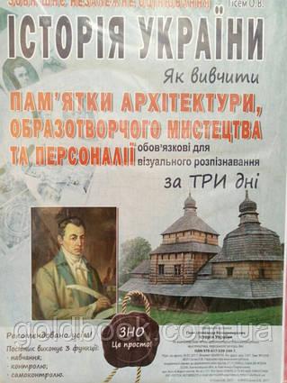 Історія України ЗНО і ДПА пам'ятки архітектури образотворчого мистецтва та персоналії