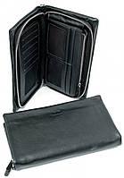 Мужское кожаное портмоне 4M-176 Black Портмоне мужское из натуральной кожи недорого в Одессе