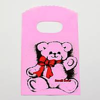 Подарочные пакетики для изделий 50 шт, розовый, размер 9*15 см