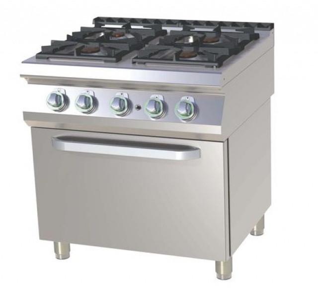 Плита газовая c духовым шкафом  SP BT 780-11 GE  RM Gastro