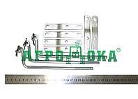 """Комплект подключения РП-70, МРС-70 (6пластин+3тяги) (""""Белорус""""-826, -1021, МТЗ-1221)"""