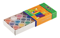 Гуашевые краски 12 цветов по 20 мл kids line zibi zb.6604