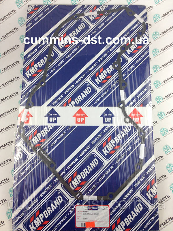 3918673/3916401 Прокладка крышки передних распределительных шестерен Cummins 4B/6B