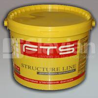 Силиконовая декоративная штукатурка FTS «STRUCTURE LINE», 25кг
