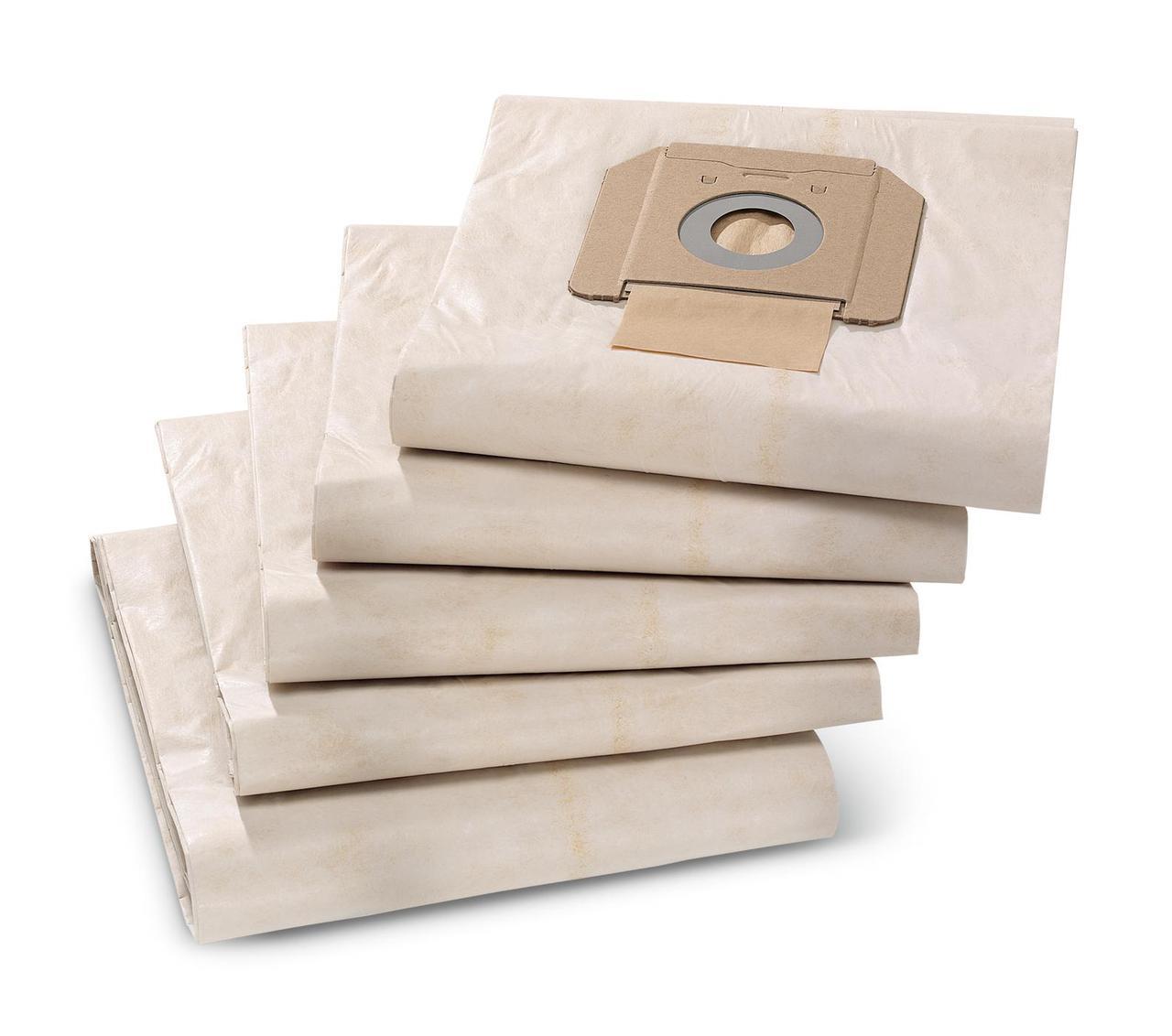 Фильтр-мешки бумажные NT 48/1, 65/2, 70/1 (2,3), 72/2, 75/2, 5 шт в пач.