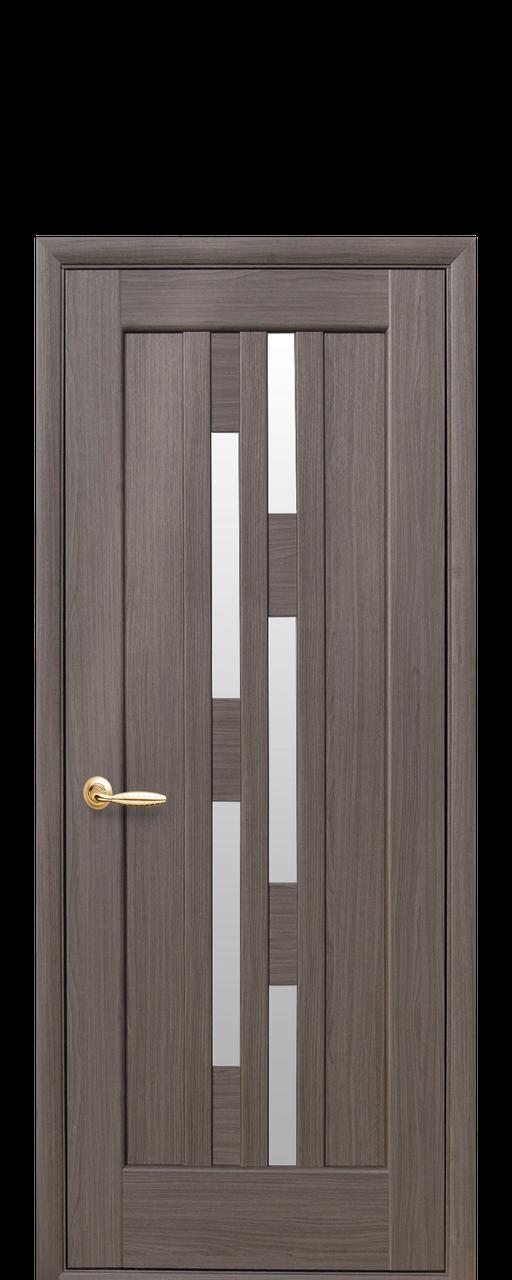 """Межкомнатные двери """"Лаура"""" со стеклом сатин"""