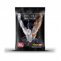 Протеин PowerPro PROBIO Whey Protein 40г спортивное питание