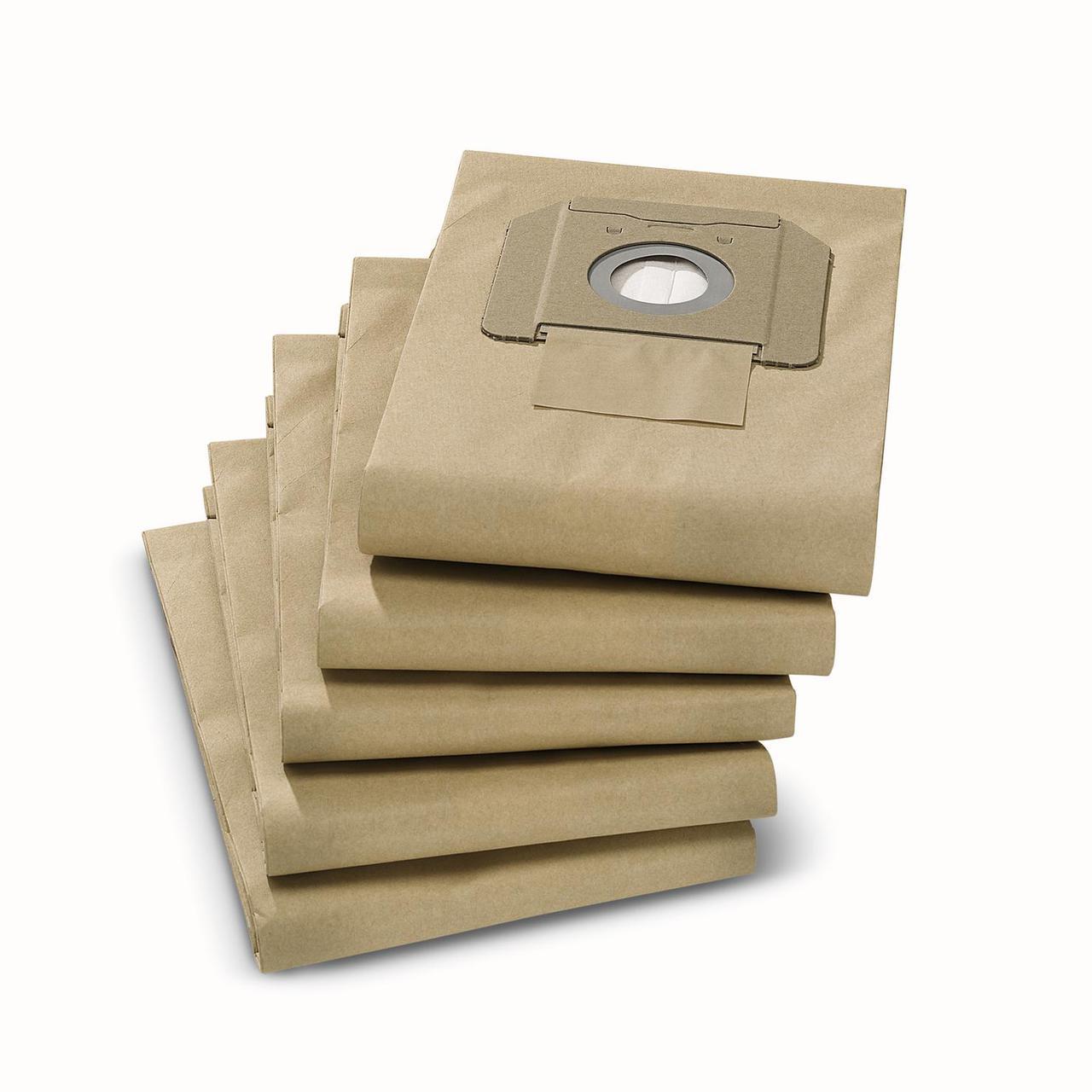 Фильтр-мешки бумажные для NT 361, 25/1, 35/1 (5 шт)