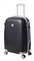 Чемодан Bonro Smile большой с двойными колесами черный (110224)