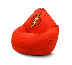 """Кресло мешок груша """"Flash"""" Флок, XXL"""