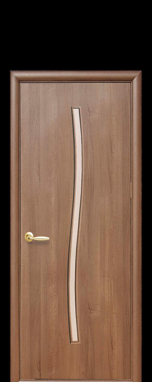"""Межкомнатные двери """"Гармония"""" со стеклом сатин"""