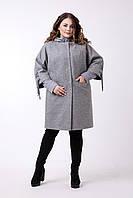 Демисезонный комплект пальто и куртка больших размеров 48-62