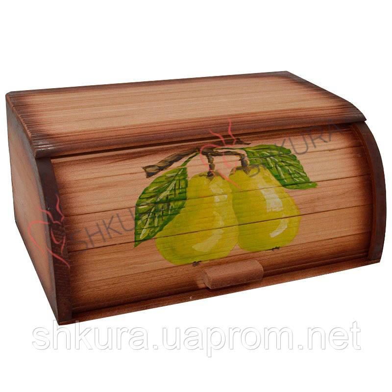 """Хлебница деревянная """"Груша"""""""